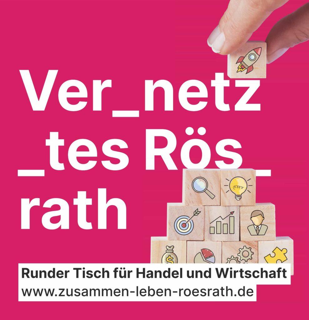 """Plakat """"Vernetztes Rösrath"""""""