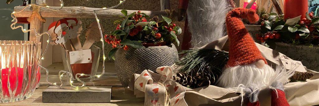 Bild einer Weihnachtsdekoration