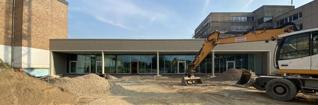 Baustelle Freiherr vom Stein Schule